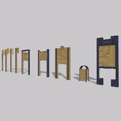 Signage | Sign Design | Wayfinding | Wayfinding signage | Signage design | Wayfinding Design | 木质导识牌