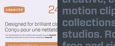 Forza | Hoefler & Frere-Jones #specimen #sans #typeface