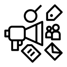 See more icon inspiration related to campaign, Ad, seo, bullhorn, digital campaign, seo and web, emails, publicity, communications, messages, marketing, envelope, digital and social media on Flaticon.