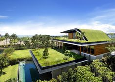 CJWHO ™ (Unique Sloping Roof Garden + Meera Sky Garden...)