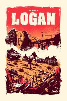 """herochan: """" Logan Art by Marie Bergeron """""""