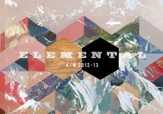 Consumer Industry Trend: Elemental #pattern #branding #montage #diamonds #logo #mountains