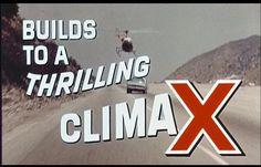 a thrilling climax | Flickr - Photo Sharing! #film #stills #typography