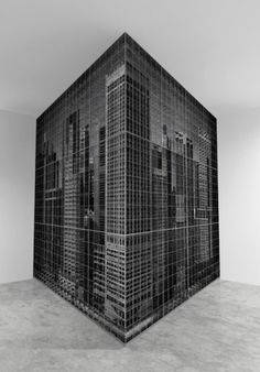 CRUDE VESSELS #white #installation #black #box #building #and #cube
