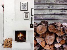 white brick fireplace  sfgirlbybay design & lifestyle blog