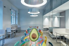 Restaurant Avocado Gang by Mimosa Architekti