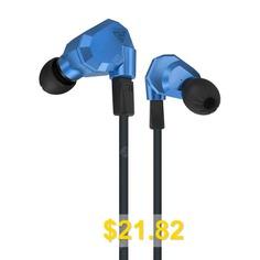 KZ #ZS5 #Detachable #HiFi #Earphones #- #BLUE