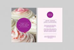 Family +44 7595 746 785 — Vanilla Cupcake Kitchen (Identity) #design #awesome