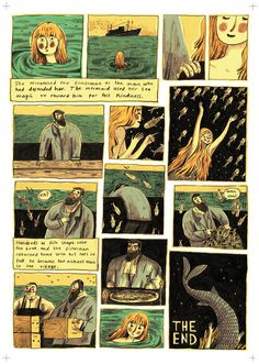 Briony May Smith illustration #comic #illustration #mermaid #book