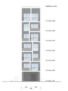 WHAT WE DO IS SECRET #elevations #drawings #facades #towers #architecture #japan #housing