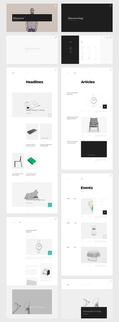Blog design #ux #contemporary #ui #simple #grid #blog #minimal #layout #web