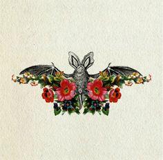~Wunderkammer~ #flower #bat