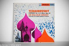 Mid-Century Album Covers – Volume 11 / Aqua-Velvet #music #cover #album #tchaikovsky