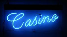Neon Circus + hire neon signs - neon sign hire #blue #neon #casino