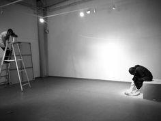 www.walidalwawi.com #dubai #gallery #white #woman #minimalism #black #contemporary #minimal #art #and