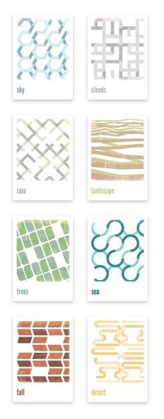 Minimal Retro Posters on the Behance Network #pattern #design #graphic #poster