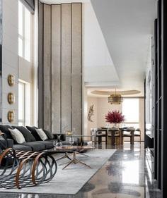 Penthouse of Vanke Metropolis No. 79 in Hangzhou, More Design Office 2