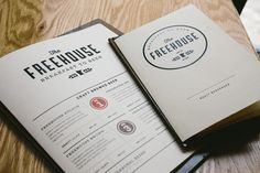 Freehouse #brand #menu