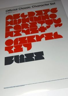 Typo posters, 2009. on the Behance Network