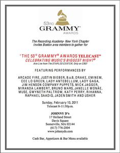 photo #grammy #invitation