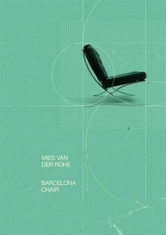 Marius Roosendaal—MSCED '11 #chair #van #design #der #rohe #mies