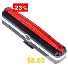 USB #Rechargeable #LED #Bike #Tail #Light #- #BLACK