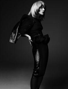 Masha Novoselova for French Revue de Modes #fashion #model #photography #girl
