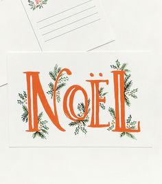 Noel Postcards #noel