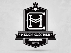 Dribbble - MC t-shirt by Piotr Jakubowski #labels #logo #badge