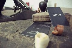 Grim Guitars on the Behance Network #creative #business #branding #card #design #graphic #direction
