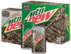 mountain dew camo pack - Google Search #packaging #camoflauge #food