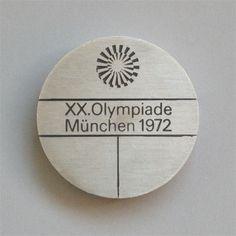 Otl Aicher 1972 Munich Olympics - Medals #otl #aicher #olympics #medal #72