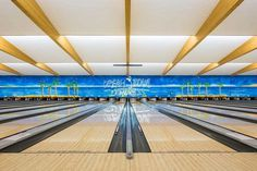 Bowling Alleys: The Vintage Beauty and Aesthetic of Germany's Kegelbahnen by Robert Goetzfried