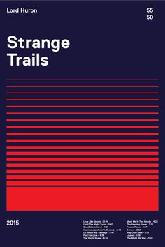Strange Tails #graphic #design #poster