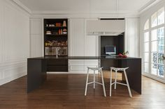 invisible kitchen by i29 interior architects seems to disappear in space #cucina