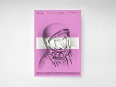 Claudiabasel Grafik & Interaktion #poster #astronaut #pink #space