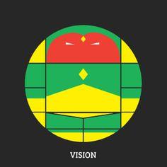 Projekt Sirkols #circles #hero #avengers #vision #sknny