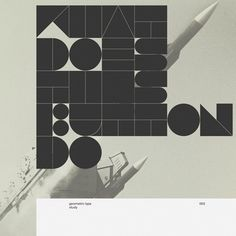 Buamai - Geometric - Marius Roosendaal—msced '11 #design #graphic #typography