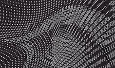 Creative Review - A new identity for Zaha Hadid Architects #white #pattern #hadid #zaha #black