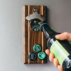 Stout Magnetic Bottle Opener by DropCatch #tech #flow #gadget #gift #ideas #cool