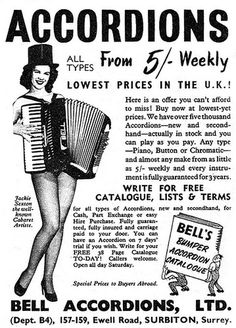 All sizes | ... accordion artiste | Flickr - Photo Sharing! #design #graphic #vintage