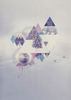 SORRY COLOUR on the Behance Network #white #snow