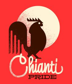 Chianti Pride, by Goran #inspiration #creative #red #design #graphic #illustration
