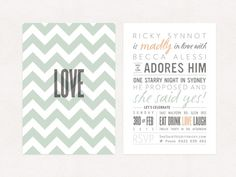 Our Engagement Party Invitations gallery