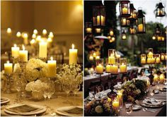 Wedding Receptions 8 #candles
