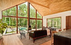 Hudson Woods: energy efficient modern houses