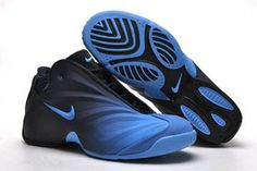 Nike Flightposite Men Shoes Royal Blue and Black