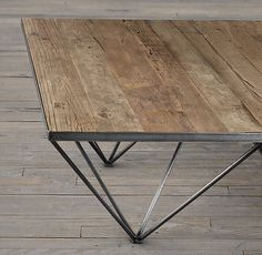 TRIBECA Table #steel #frame #table
