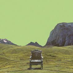 you chose me. #album #artwork #minimal #art #collage #green