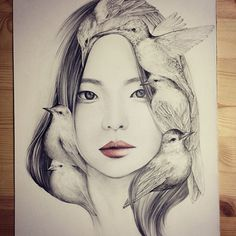 Whimsical Drawings by OkArt #drawings #okart #whimsical